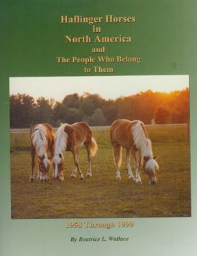 Haflinger Book
